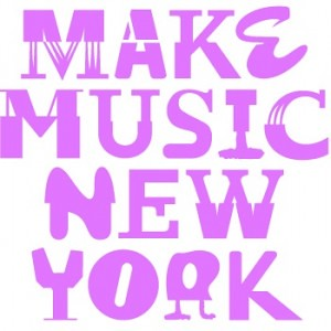 Make Music New York Festival, logo