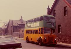 Glasgow Corporation L46 Cyldebank (Guy Arab UF) Tags: bus buses glasgow scottish corporation 1956 titan municipal leyland weymann pd225 l46 cyldebank fys669