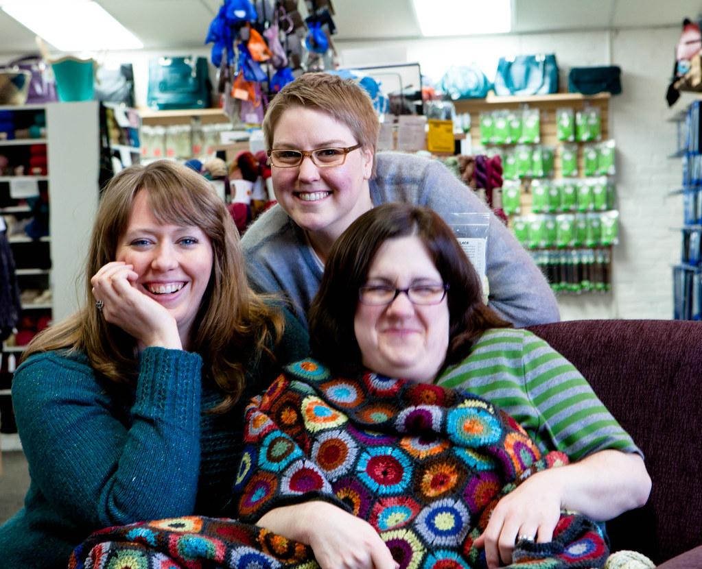 Jonvieve, Liz, and me
