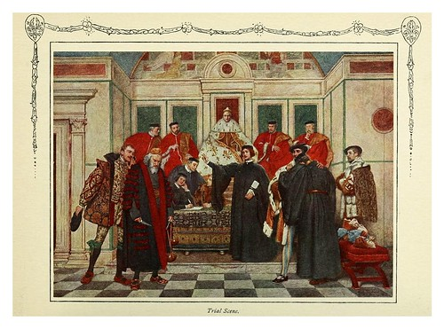 011-Escena de prueba-Shakespeare's comedy of the Merchant of Venice 1914- James D. Linton