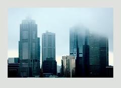 Melbourne on a Misty Day