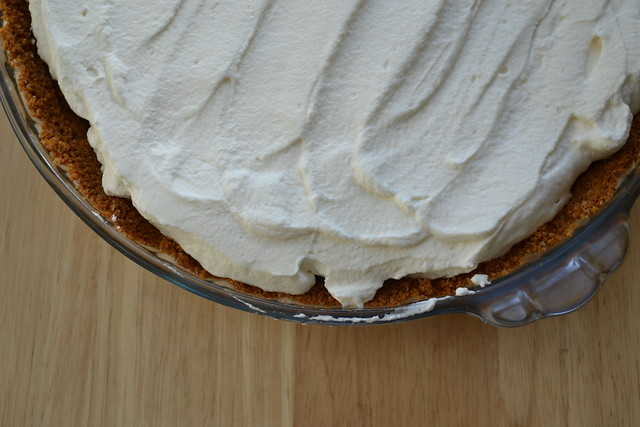 Butterscotch Bourbon Cream Pie