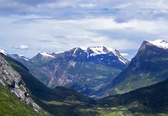 Norwegian splendour (DavidAndersson (away)) Tags: snow mountains berg norway norge fjord peaks majestic geiranger sunnmre dalsnibba