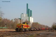 EH 548 (vsoe) Tags: eh germany deutschland nrw duisburg industrie ruhrgebiet hkm gterzug samms vossloh g1206 wannheim