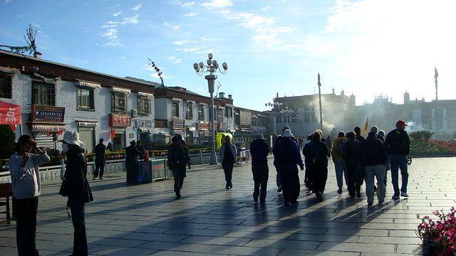 Bhakor Street, Lhasa