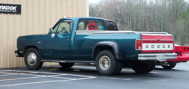 truck diesel pickup dodge ram cummins d350 turbodiesel dully