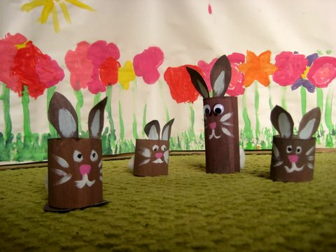easter rabbit craft
