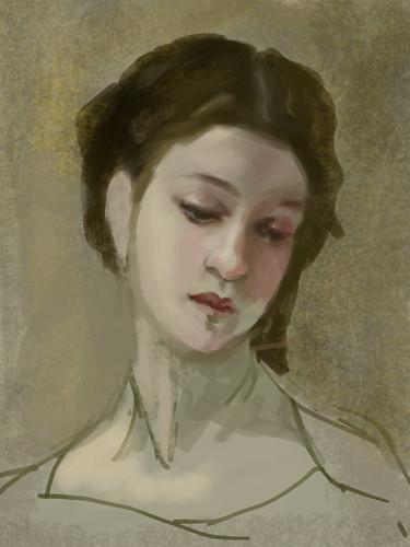 Bouguereau Study by iamtretre