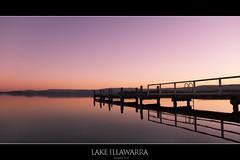 | Sunset at Lake Illawarra | غروب الشمس في بحيرة إلوارا | (Taha Elraaid) Tags: camera sunset lake tree beautiful canon photography australia nsw 7d heights taha wollongong illawarra bestofaustralia lakeheights photography2011 elraaid