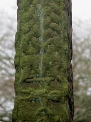 Heimdall - Gosforth Cross (Thorskegga) Tags: england art english stone carved cross carving cumbria viking gosforth