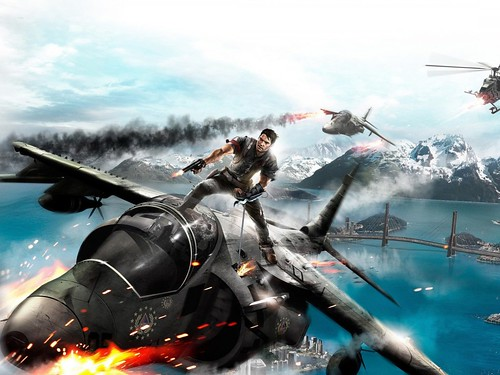 games wallpapers hd. Just Cause Games Wallpaper