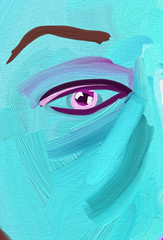 Eye of Luli 2011.01.27 (Julia L. Kay) Tags: sanfrancisco pink blue party portrait woman green eye art face mobile closeup female digital sketch san francisco artist arte julia teal kunst kay daily dessin peinture portraiture eyebrow 365 everyday artrage dibujo artista mda artiste knstler iart ipad portraitparty isketch mobileart idraw artrageapp juliakay jkpp julialkay juliakaysportraitparty iamda mobiledigitalart artrageapponly luligirl lulligirl