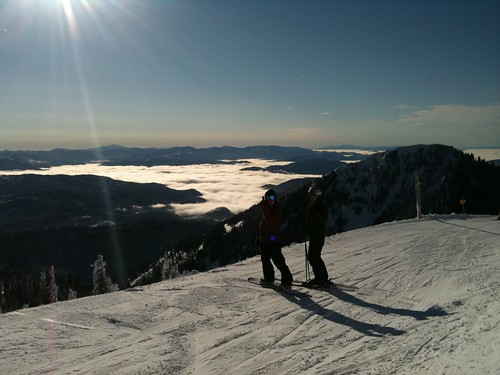Powder Day and Sunshine :D