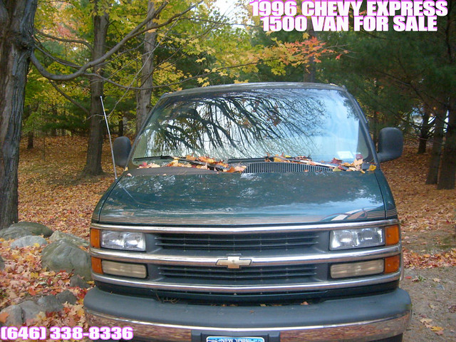 chevrolet brooklyn for conversion sale 1996 chevy express van