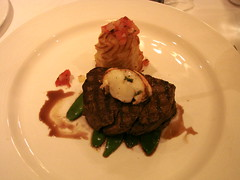 Disney Dream Royal Palace Beef Tenderloin