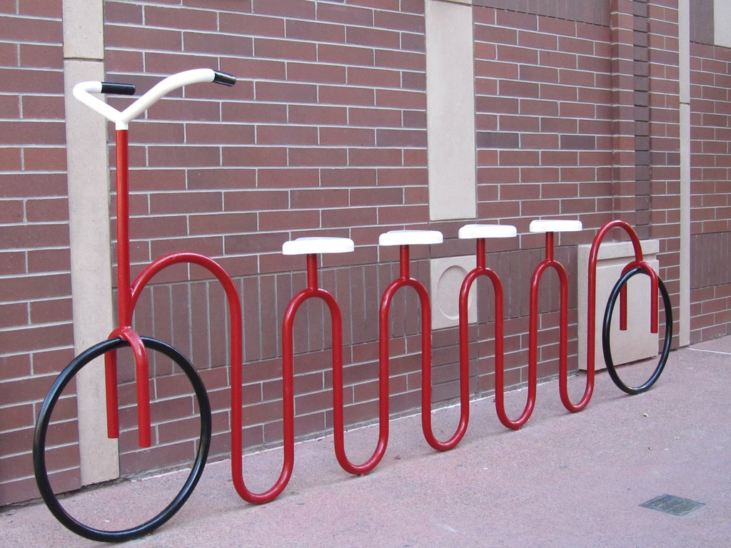 Bicycle Rack Bicycle