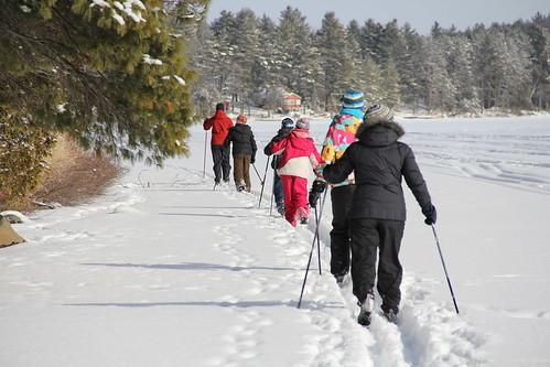 Classic family ski