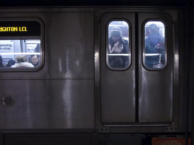 Q Train, NYC