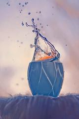 Splash (Emma-tyan) Tags: cup water coffee canon cookie tea splash 18 50