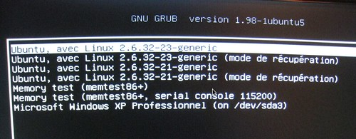 Customiser GRUB-PC dans Ubuntu 10.04