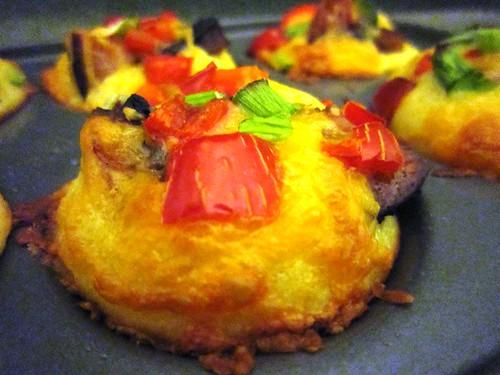 Topless cornbread muffins