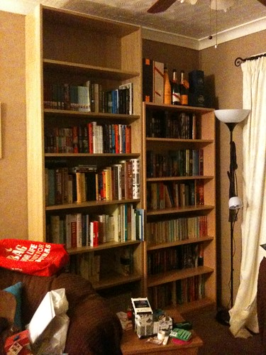 PAD: More Bookshelves