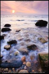 2010-12-11 Gooseberry Island-6 (Bryan Bzdula Photography) Tags: ocean sunset seascape canon coast massachusetts sigma westport 1020 horseneck gooseberryisland 40d graduatedneutraldensity