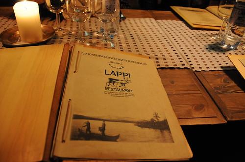 Meal in Helsinki