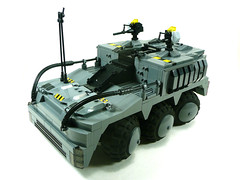T8 Kronos Urban Assault APC. (PACOM) (Lego Junkie.) Tags: urban last stand lego contest attack apocalypse assault ba apc destroyed survivor forums destroy kronos apoc t8 brickarms