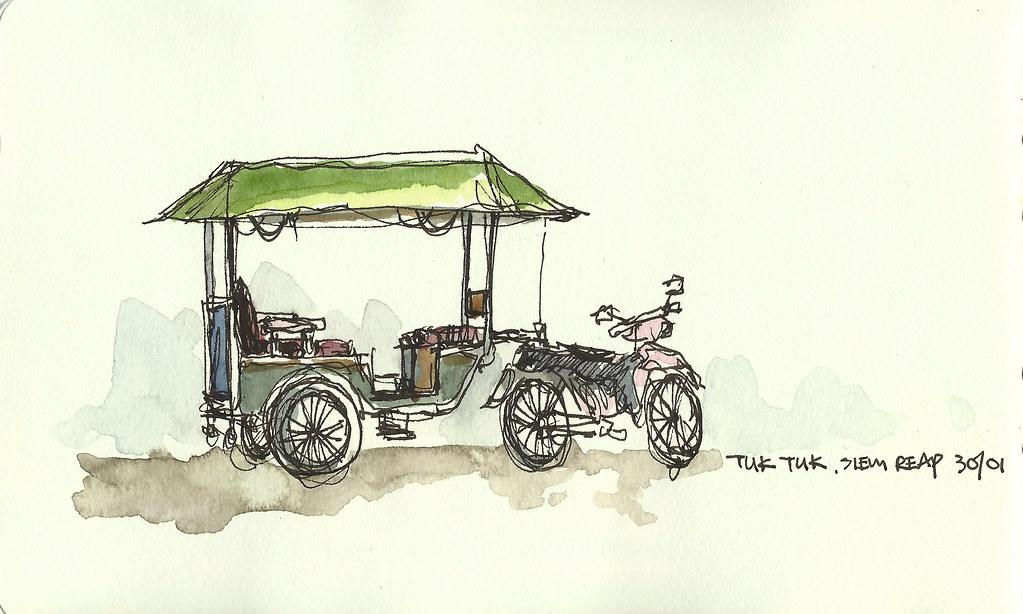 Tuk Tuk, Siem Reap