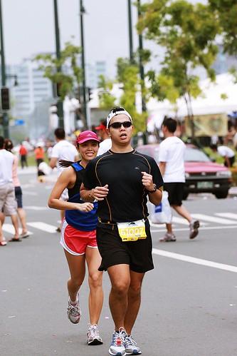 Condura Skyway Marathon: Push Push