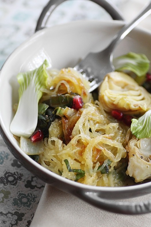 Spaghetti Squash and Herbs2