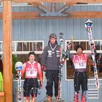 Miele Cup Apex Downhill 2011 - Men's Overall Podium (Morgan Pridy - Bronze; Mathieu Leduc - Gold; Conrad Pridy - Silver)