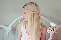 Shandi-lee XXX {contentment} (Shandi-lee) Tags: pink white girl hair bed bedroom soft alone pastel longhair peach naturallight calm pale starbucks headboard blonde delicate bedframe lookingaway damask starbuckscup lightskin canon7d oldstarbuckslogo braidinhair oldstarbucksdesign originalstarbucksdesign