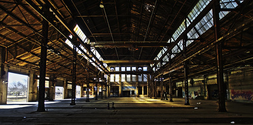 Morning Light at Pullman Yard
