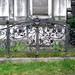 Eisengitter - Grabstätte der Familie Hebbinghaus