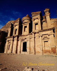 Ad Deir (Monastery) [5_029970] (Steven Christenson) Tags: petra jordan potm edom stevenchristenson photographytheamusingcom starcircleacademycom potm201102