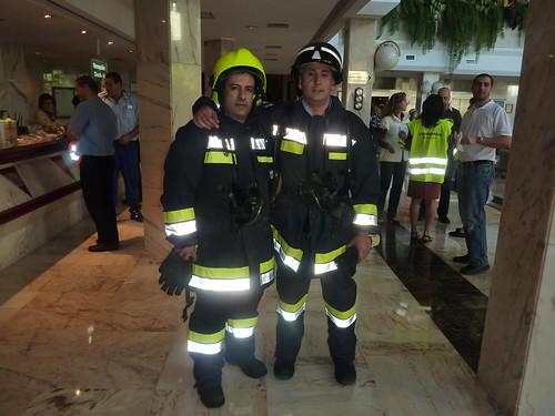 Fire Drill at Vulcano Hotel