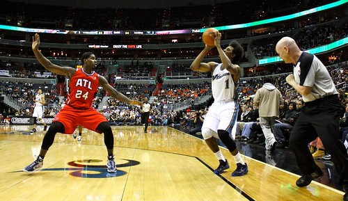 washington wizards, atlanta hawks, nba, february 5th, 2011, truth about it, adam mcginnis, nick young, three point shot