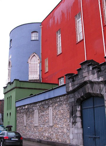 Colourful buildings in Dublin