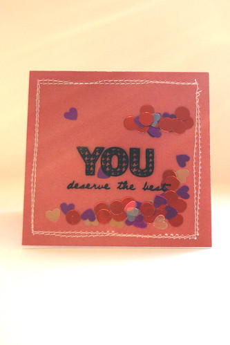 Mini Valentines Card