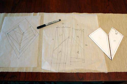 Sketching the pattern