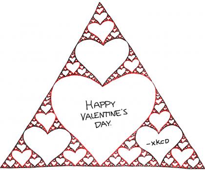 Triángulo amoroso de Sierpinski