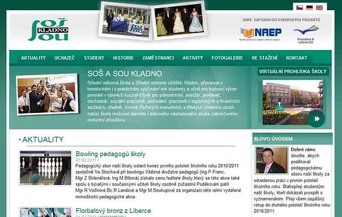 Unsere Partnerschule in der Tschechischen Republik SOS A SOU KLADNO