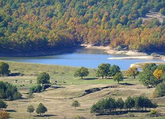 Landscape near Starosel  (lake Stena ?) (Frans.Sellies) Tags: bulgaria bulgarie bulgarije bulgarien bulharsko bulgaristan  starosel      p1280677