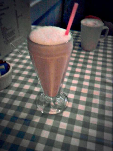 milk shake moyster