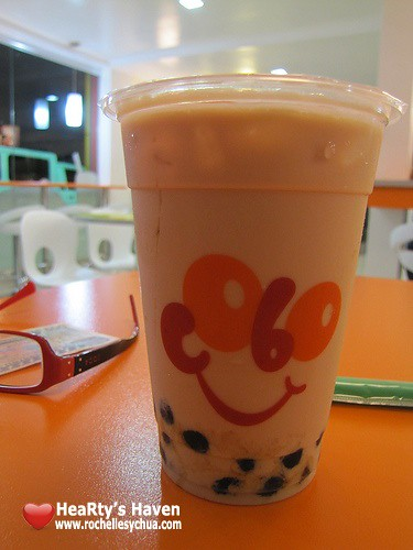cobo iced milk tea
