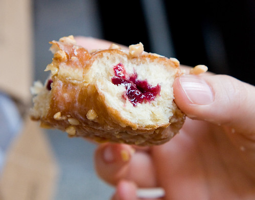 Peanut butter and jelly, Doughnut Plant Chelsea