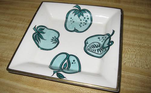Nelson Lebo salad plate