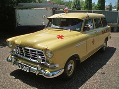 1958 Holden FC ambulance (sv1ambo) Tags: transport ambulance queensland 1958 fc holden brigade boonah qatb
